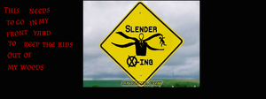 Slender X-ing by The-Hero-Of-Thyme