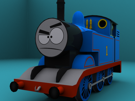 Thomas The Tank Engine by TJ-Triple-J