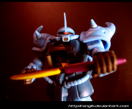 Gouf wanna fight? by rangib