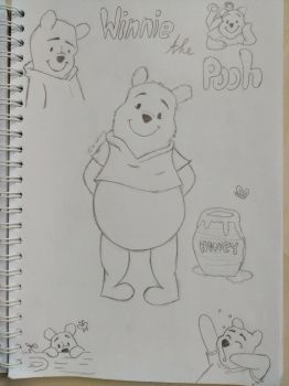 Winnie the Pooh by Lovelytaa