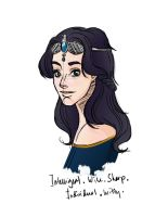 Fair Ravenclaw from Glen by troopertrish