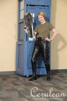 Doctor Who Photoshoot: Jenny The Doctor's Daughter by StrangeStuffStudios