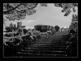 The stairway... by tonyeck