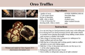 Oreo Truffle Recipe by claremanson