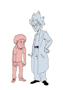 RICK and MORTY by theonlybriman47