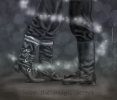 Keep the magic secret by red-d-evil