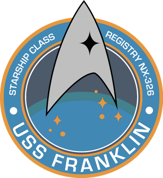 USS Franklin NX-326 Mission Patch by viperaviator