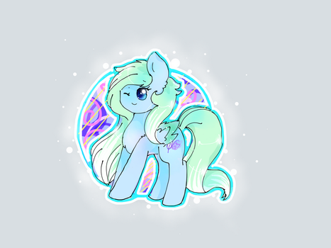 Comission- Fluffy Maiden by PinkFlutter