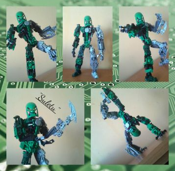 Bionicle MOC:'Suletu'(OoMN expert infiltrator) by TheAxelandx1