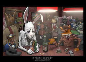 Le Bistrot Tudesque by melies
