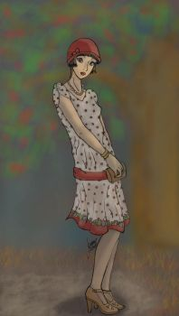 Flapper Girl by BoricuanKitty