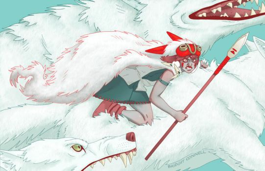 Princess Angry Spirit and the Moro Clan by bridgitconnell