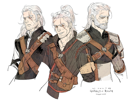 The Witcher by freestarisis