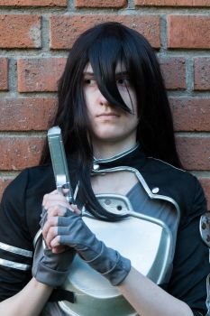 Kirito Cosplay Second by MBlackFlamesM