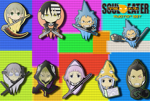 Soul Eater Avatar Set by KnOxEr