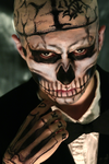 Zombie Boy Cosplay: Confrontation by Bllacksheep