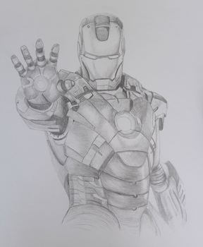 Iron Man by doodlingjessie