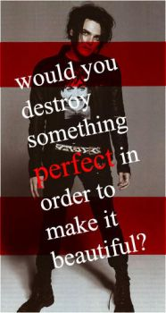 Would you destroy something perfect? by chemicalkid101