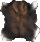 Brown Black Moose Pelt by TokoTime