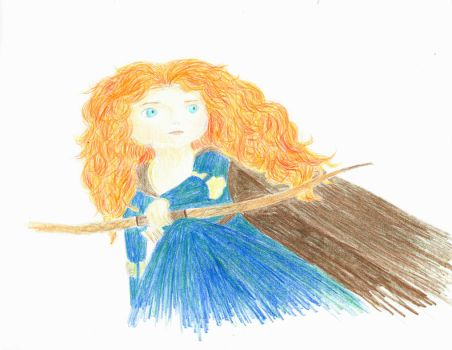 The Huntress Merida by SpottedTalon7