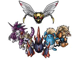 5 guys and a Gigalith