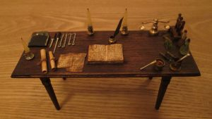Table With Tools For Poison by AtriellMe