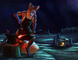 Night Farrier by FireMaster13