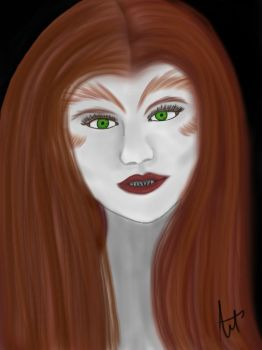 Werewolf Lydia Re-draw by AmourReveurBelle