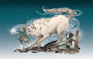 Bran Stark: Into the snow by give-dreams-wings