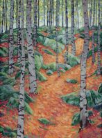 Birch Forest by alexichabane