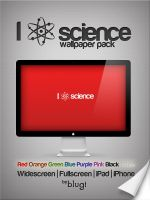I Atom Science Wallpaper Pack by Blugi