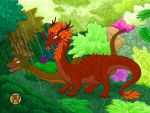 Forest Dragons' Garden by -coldfusion-