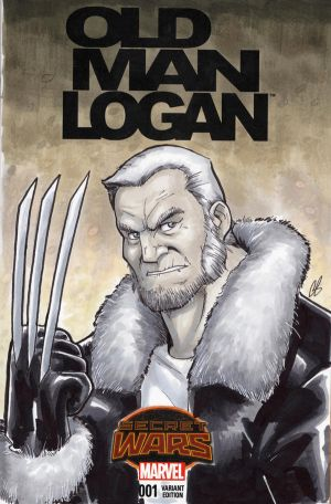 Old Man Logan by BigChrisGallery