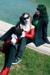 Joker and Harley Quinn cosplay by YuriKoVIII