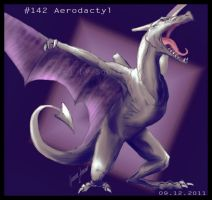 3. December: Aerodactyl. by Soulfoxii