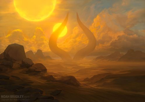 Approach of the Second Sun by noahbradley