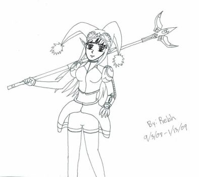 Rebh with Psycho Wand by Rebh