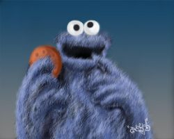 Cookie Monster by DanloS