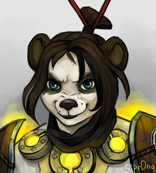 pandaren by Sipr0na