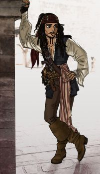 Pirates of the Caribbean by insectikette