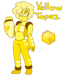 Yellow Topaz Gemsona Adoptable: SOLD by Geekygirl3000