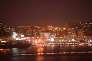 Washington Heights and the Hudson 2 by RozenGT