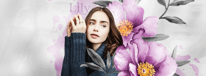 Lily Collins by DLovatic1