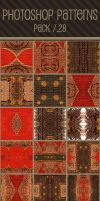 Photoshop Patterns - Pack 28 by punksafetypin