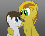 Mom and Son by BruinsBrony216
