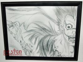 RYUK from DEATH NOTE by Graphix-Goddess