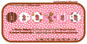 6 Berry Sweet Patterns by HG by Crystal-Moore