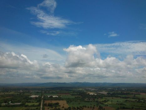 Landscape from Giant Buddha Statue by Veareance