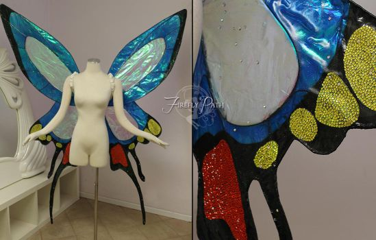 Heavy Metal Papillon Fairy Wings by Firefly-Path