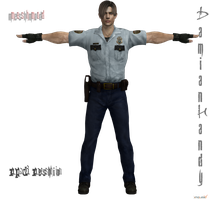 Leon Patrol outfit (RPD Reskin) by DamianHandy